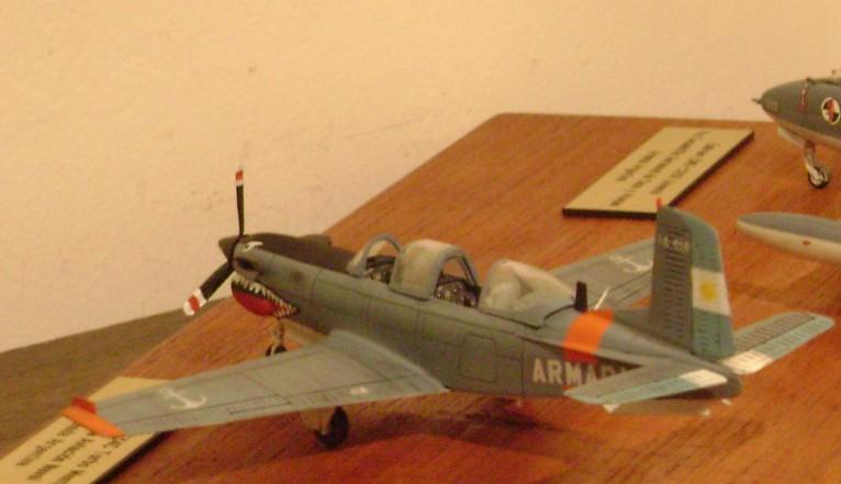 Modelismo Aeronaval - Armada Argentina T34c1-10