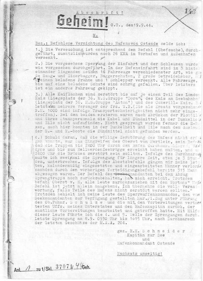 rapport destructions faites par les Allemands 1944 110