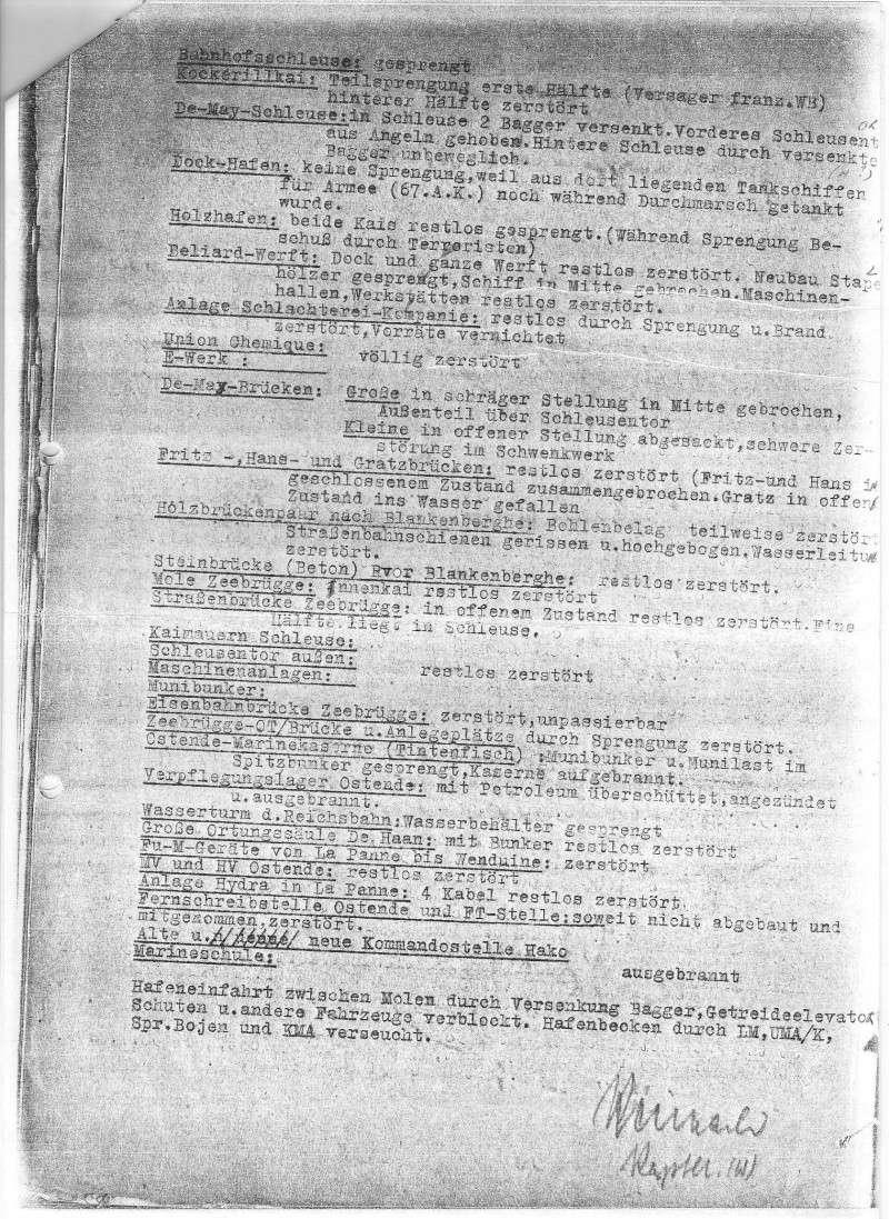 rapport destructions faites par les Allemands 1944 210