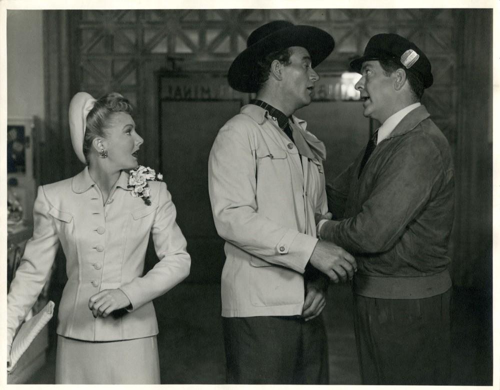 La Fille et son Cowboy - A Lady Takes A Chance - 1943 10697f10