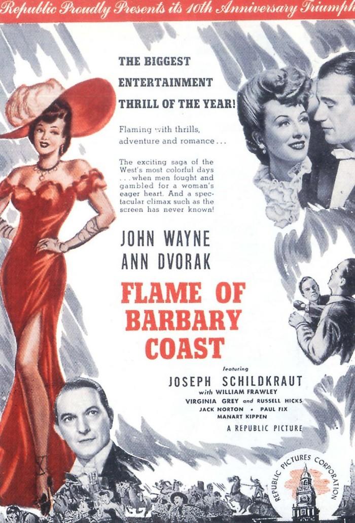 La Belle de San Francisco - Flame of The Barbary Coast  1945 Ann12_10