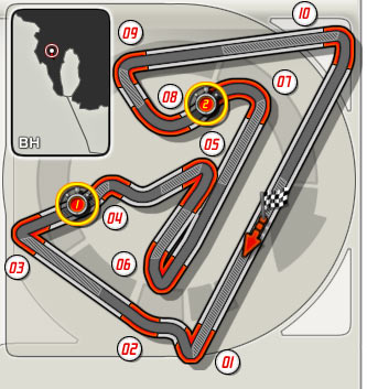 3:GP de Bahrein (Bahrain International Circuit) Circui13