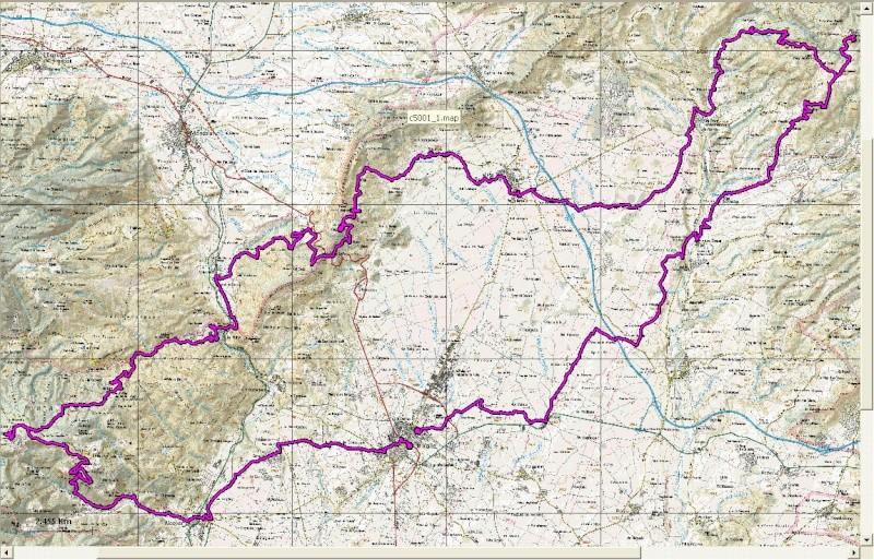 Prepareu-vos per la Ruta dels tres cims Mapa17