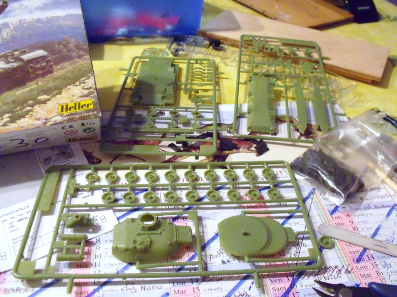 AMX 30 + charrue au 1/72 Dscf8911