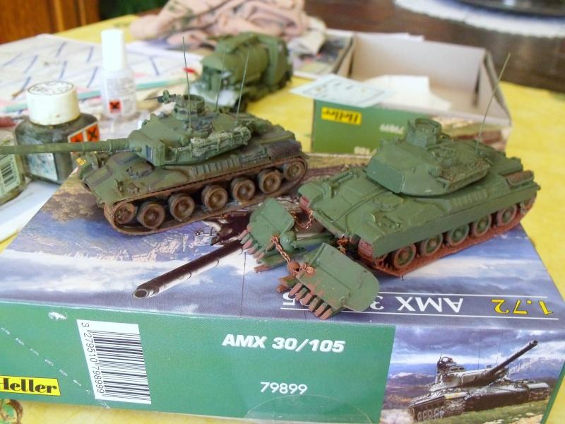 AMX 30 + charrue au 1/72 Dscf9814