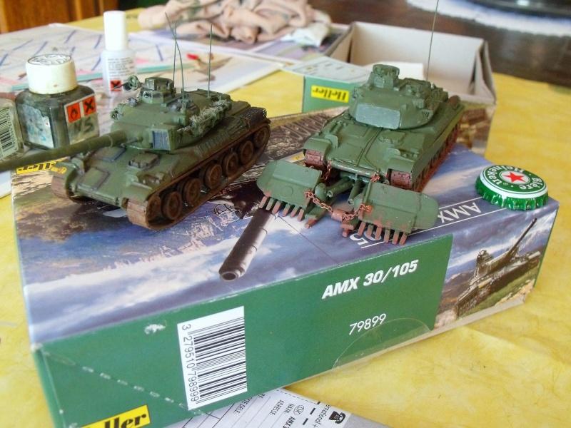 AMX 30 + charrue au 1/72 Dscf9910