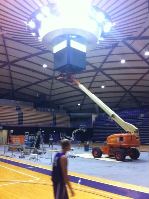 Video Board Installation Starts Today Vboard12