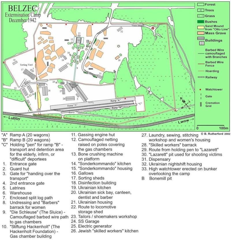 Belzec : histoire, plans et croquis Billym10