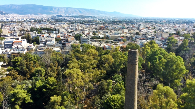 EUROPE, GREECE, ATTICA, AIGALEO, 2019-OCT-13 Mp210