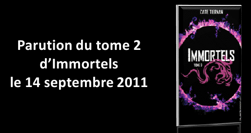 IMMORTELS (Tome 1) LA FUITE de Cate Tiernan Bm10
