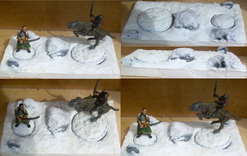 [Diorama] Duel dans les Monts Brumeux 1411