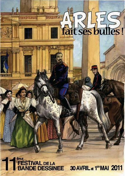 sept cavaliers  la bande dessinée - Page 10 Arles10