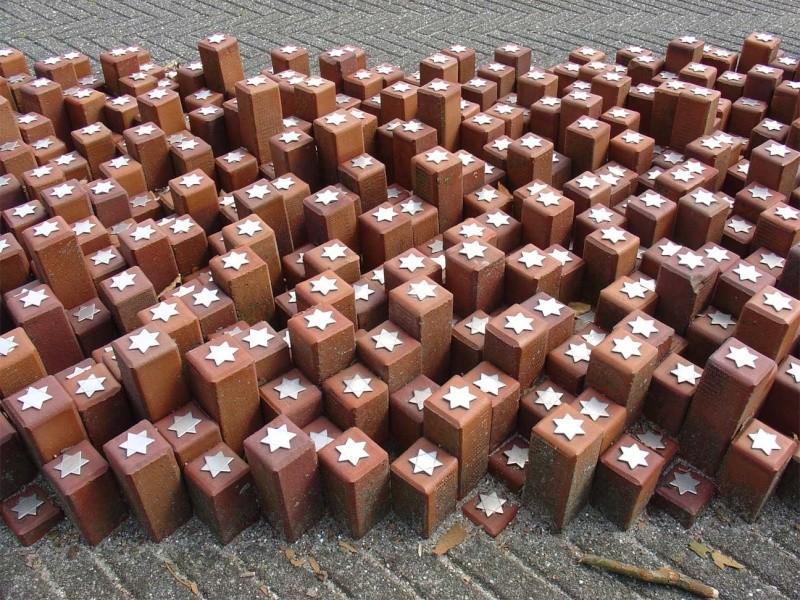 Monument en hommage des juifs déportés au camp de Westerbork - Pays-Bas Monume10