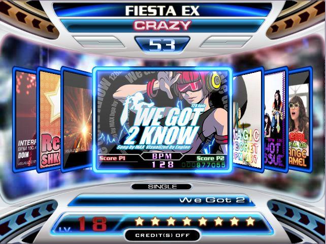 stepmania pump it up fiesta ex