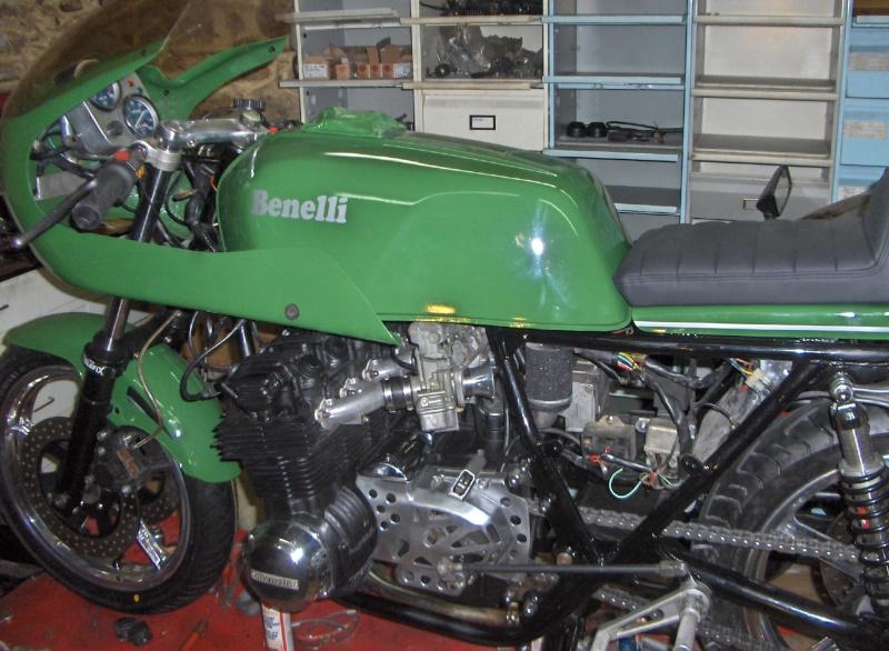 BENELLI SEI spéciale MOTO PERF 00712