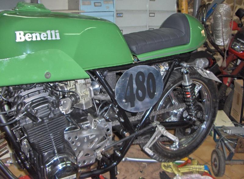 BENELLI SEI spéciale MOTO PERF 01310