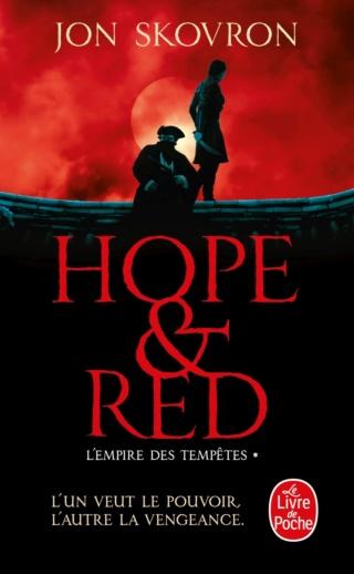 L'EMPIRE DES TEMPÊTES (Tome 01) HOPE & RED de Jon Skovron 71ypeb10