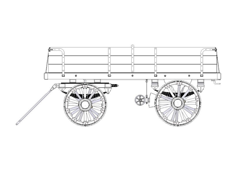 "4"" Scale Traction Wagon to suit Road Loco / Showman's Engine Wagon_13"