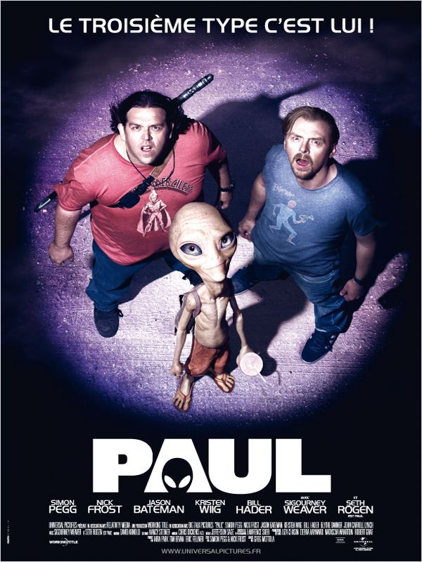 Paul (2011) Comédie / Science Fiction Affich13