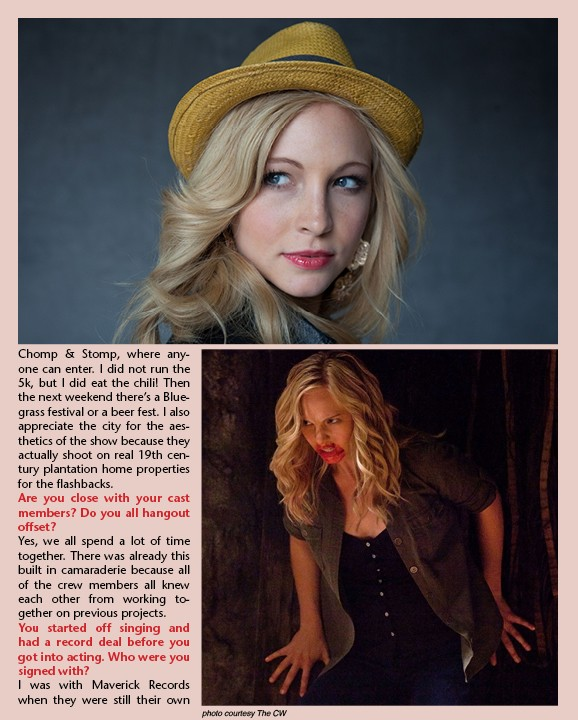 Candice Accola (Caroline Forbes) News5012