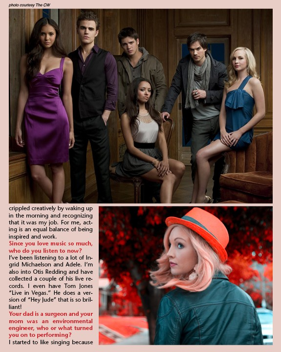 Candice Accola (Caroline Forbes) News5014
