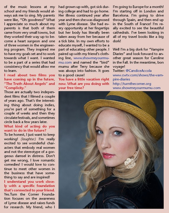 Candice Accola (Caroline Forbes) News5015