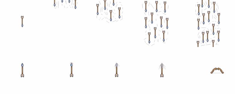 [résolu] Animation d'arc Fleche10