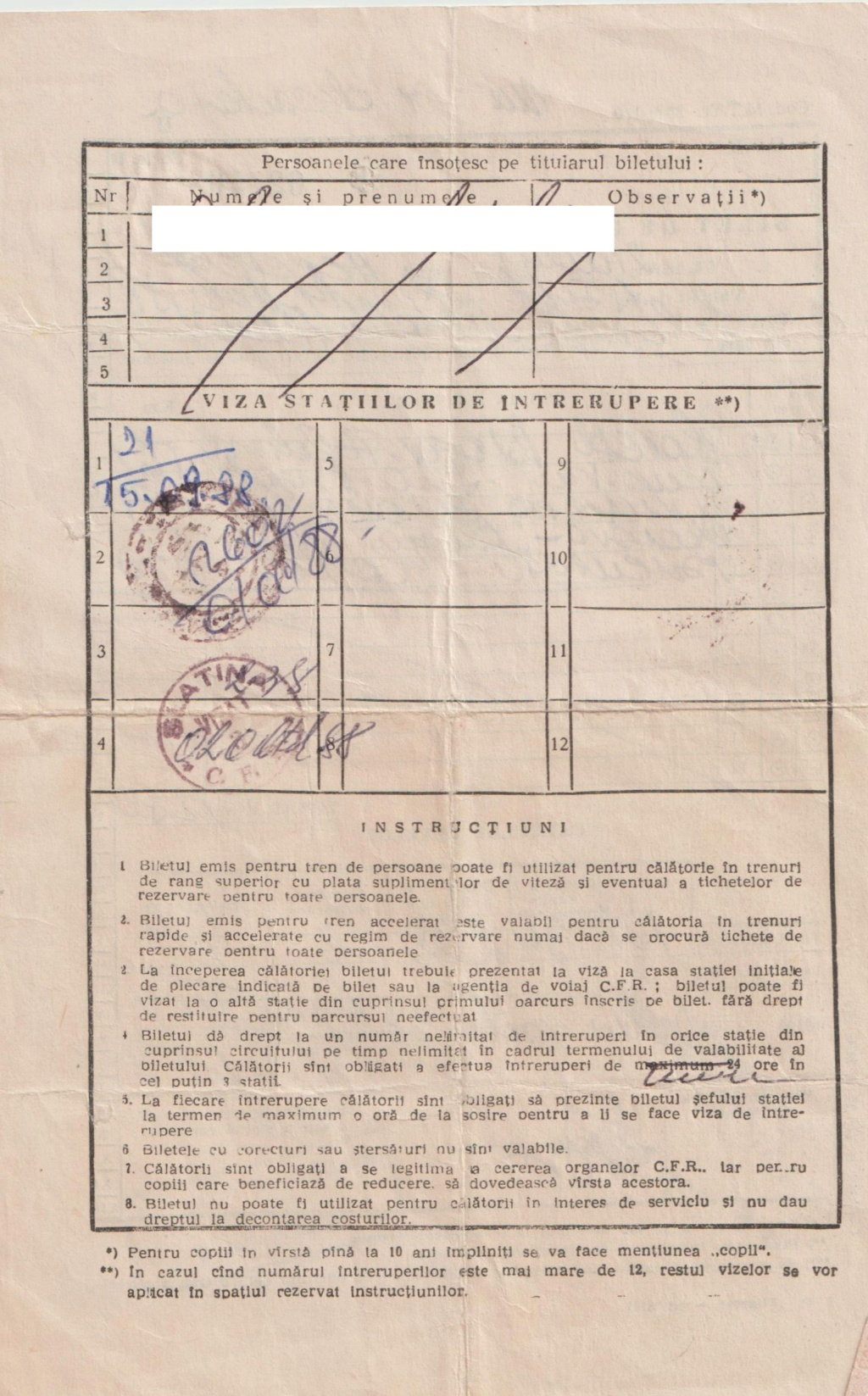 TRANSPORTUL FEROVIAR IN TIMPUL COMUNISMULUI (1945-1989) - Pagina 4 Biletc10