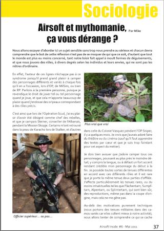 Magazine en ligne : Airsoft Inside Image_11