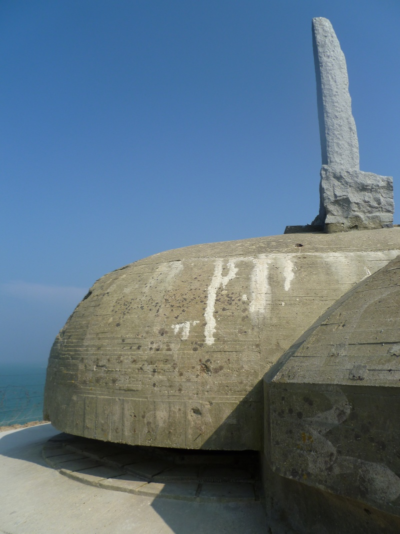 la pointe du Hoc -Normandie- 11410
