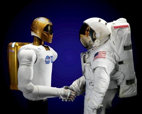 "Le ""Robonaute"" de la NASA Rob11"