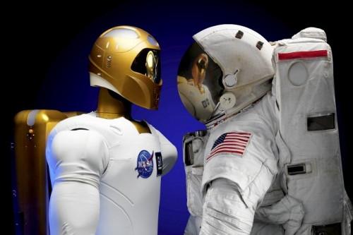 """Le """"Robonaute"""" de la NASA Robo11"""