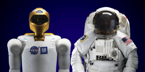 """Le """"Robonaute"""" de la NASA Robona11"""