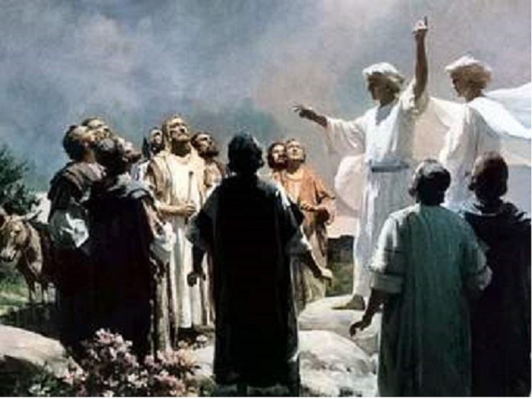 Ascension: De la même façon qu'il est ressuscité, il est monté au ciel, Ascens12