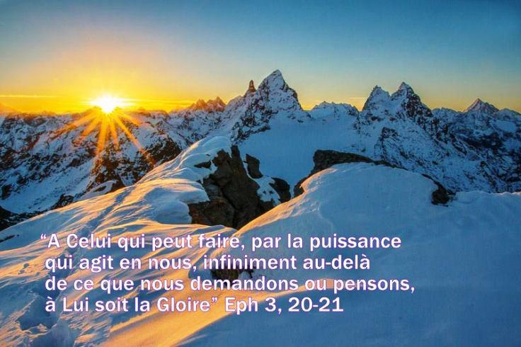 Notre espérance en Christ pour l'avenir est le motif et la base de notre joie sur la terre. Priere11