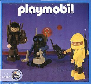 Playmobil Thème espace : Les robots 390810