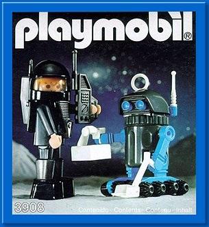 Playmobil Thème espace : Les robots 3908an10