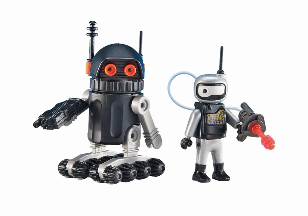 Playmobil Thème espace : Les robots 71aaop10