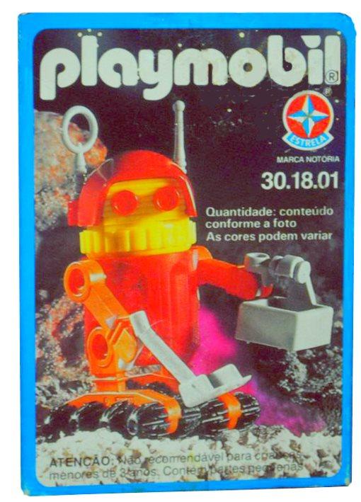 Playmobil Thème espace : Les robots Caixa-10