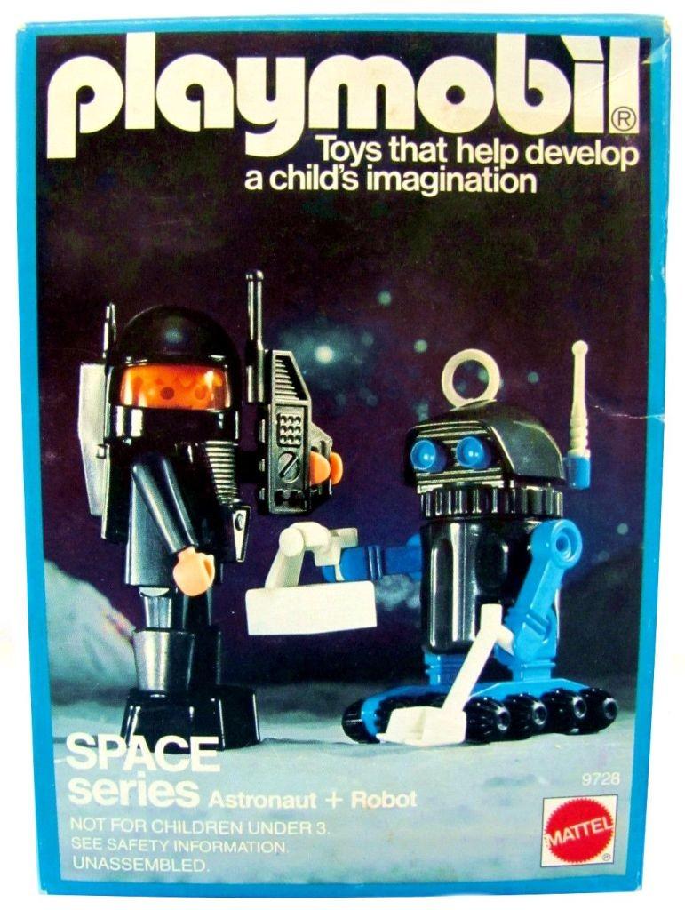 Playmobil Thème espace : Les robots Sets-d10