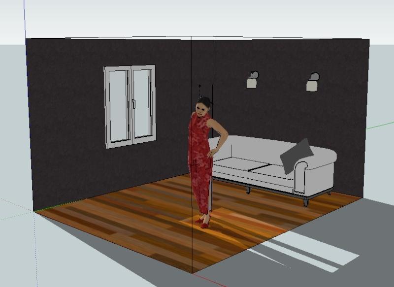 Google Sketch Up... Les plans de feu 3D Captur10