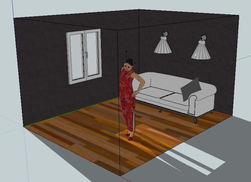 Google Sketch Up... Les plans de feu 3D Captur11