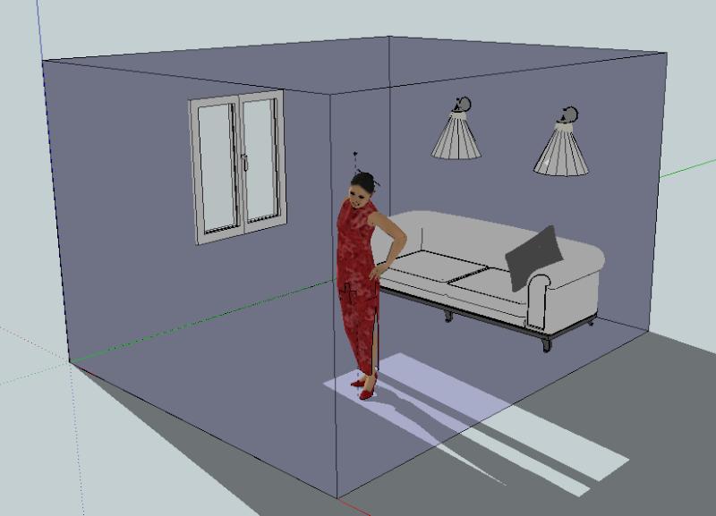Google Sketch Up... Les plans de feu 3D Captur21