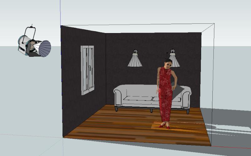 Google Sketch Up... Les plans de feu 3D Captur26