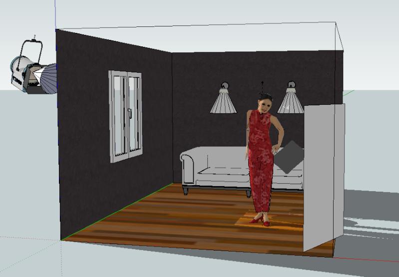 Google Sketch Up... Les plans de feu 3D Captur27