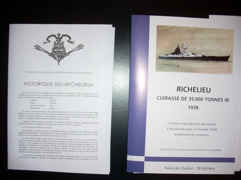 Richelieu Heller + kit arsenal 410