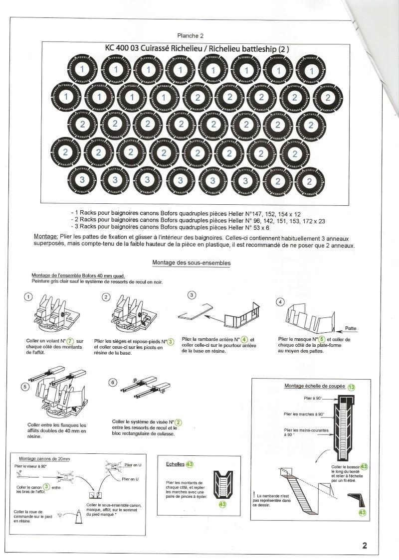Set détails L'arsenal pour Richelieu Heller 1/400 Numari19