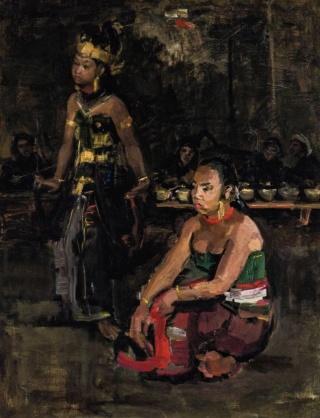 Recordbedrag voor schilderij van Isaac Israëls in het Indische genre 117