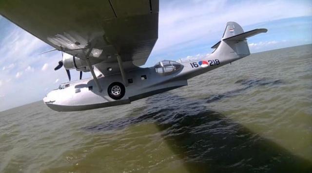 Einde verhaal voor historische Catalina in Nederland 142