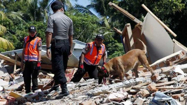 Update: Meer dan 130 doden door aardbeving Lombok 148